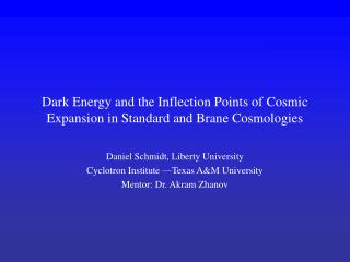 Dark Energy and the Inflection Points of Cosmic Expansion in Standard and Brane Cosmologies
