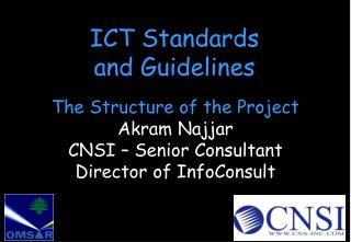 ICT Standards and Guidelines