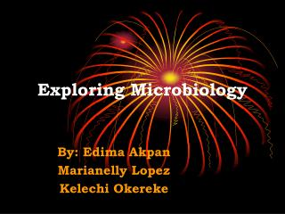 Exploring Microbiology