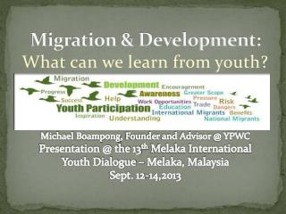 Migration & Development: