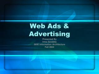 Web Ads & Advertising
