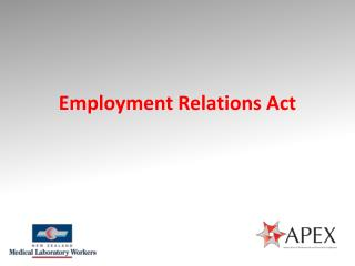 Employment Relations Act
