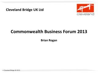 Cleveland Bridge UK Ltd