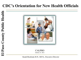 CDC's Orientation for New Health Officials