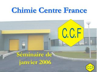 Chimie Centre France