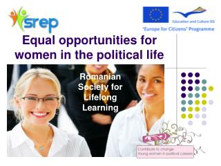 Equal opportunities for women in the political life