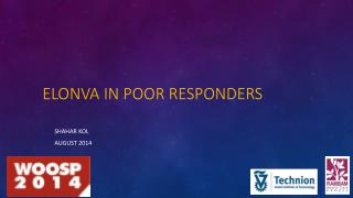 Elonva  in poor responders