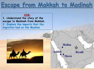 Escape from Makkah to Madinah