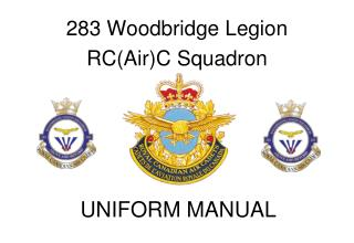 283 Woodbridge Legion  RC(Air)C Squadron