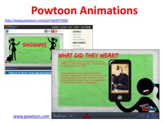 Powtoon Animations