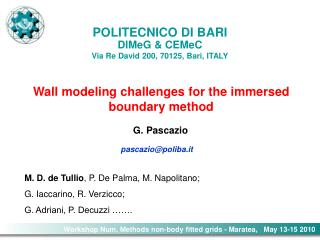 Wall modeling challenges for the immersed boundary method