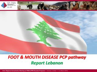 FOOT & MOUTH DISEASE PCP pathway Report Lebanon