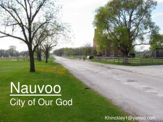Nauvoo City of Our God