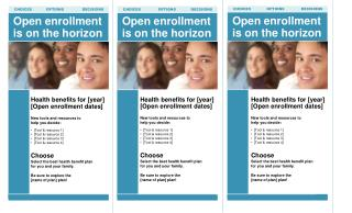Open enrollment is on the horizon