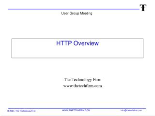 HTTP Overview