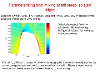 Parameterizing tidal mixing at tall steep isolated ridges