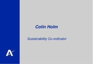 Colin Holm