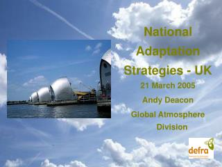 National Adaptation Strategies - UK