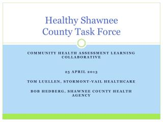 Healthy Shawnee  County Task Force