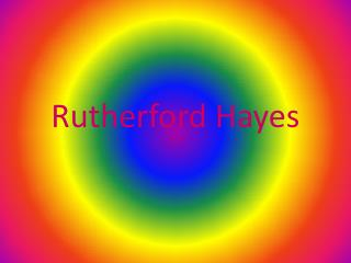 Rutherford Hayes by Leo