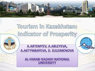Tourism in Kazakhstan: Indicator of Prosperity