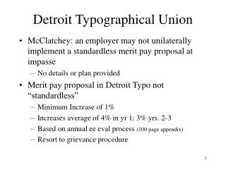 Detroit Typographical Union