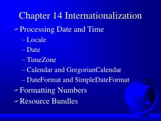 Chapter 14 Internationalization