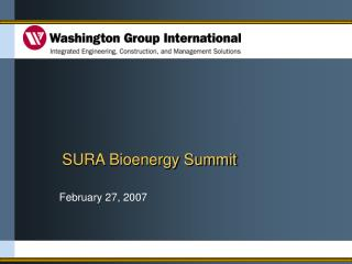 SURA Bioenergy Summit