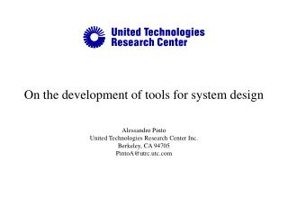 On the development of tools for system design