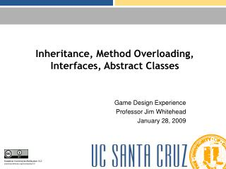 Inheritance, Method Overloading, Interfaces, Abstract Classes