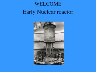 Early Nuclear reactor
