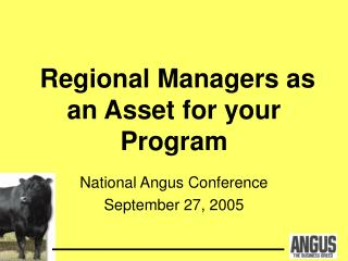 Regional Managers as an Asset for your Program