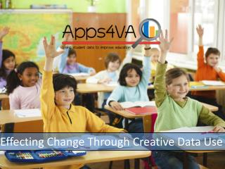 Effecting Change Through Creative Data Use