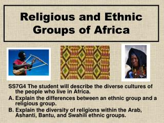 Religious and Ethnic Groups of Africa