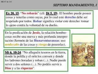 SEPTIMO MANDAMIENTO, 1