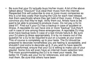 talked about Discount DJs
