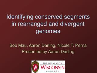 Identifying conserved segments in rearranged and divergent genomes
