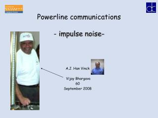 Powerline communications -  impulse noise-