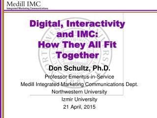 Marketing Communications:  Strategy, Development, and Technology