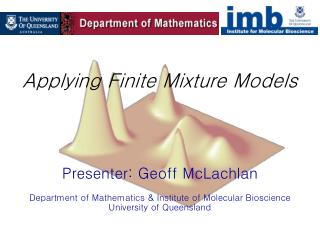 Applying Finite Mixture Models