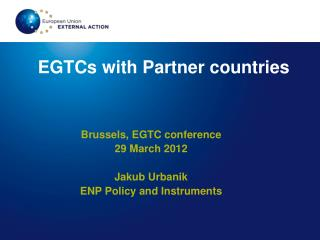 EGTCs with Partner countries