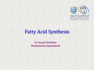 Fatty Acid Synthesis