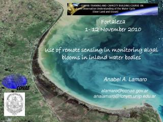 Use of remote sensing in monitoring algal blooms in inland water bodies