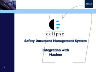 Safety Document Management System Integration with  Maximo