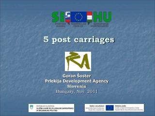 5 post carriages