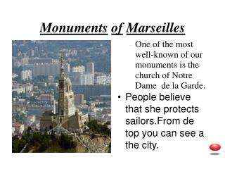 Monuments of Marseilles