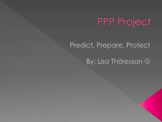 PPP Project