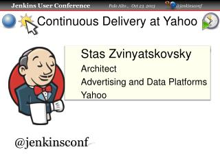 Continuous Delivery at Yahoo