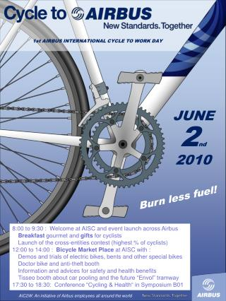 1st AIRBUS INTERNATIONAL CYCLE TO WORK DAY