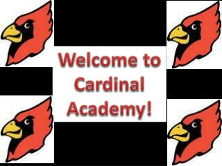 Welcome to Cardinal Academy!